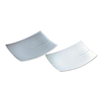 白山陶器 ペア長方皿