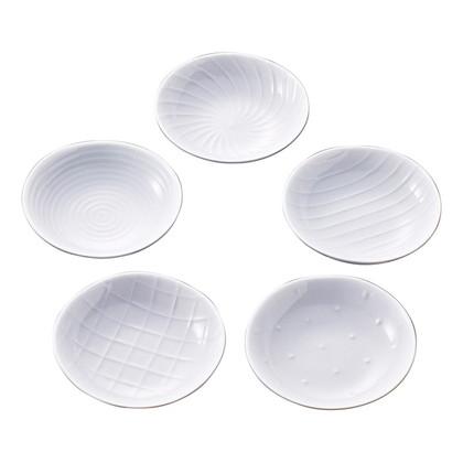 白山陶器 小皿揃