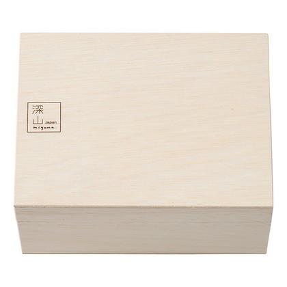 ミヤマ ひびき酒器セット(木箱入) 緑釉