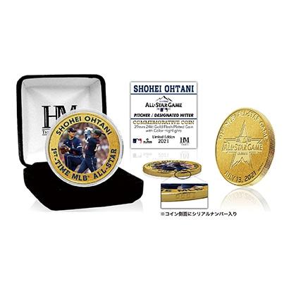 Shohei Ohtani Gold Color Coin(ゴールドカラーコイン)・シリアルナンバー入り