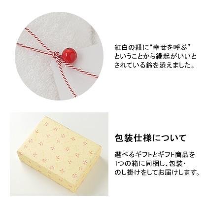 選べるギフト 花コース+今治謹製 至福タオルセット