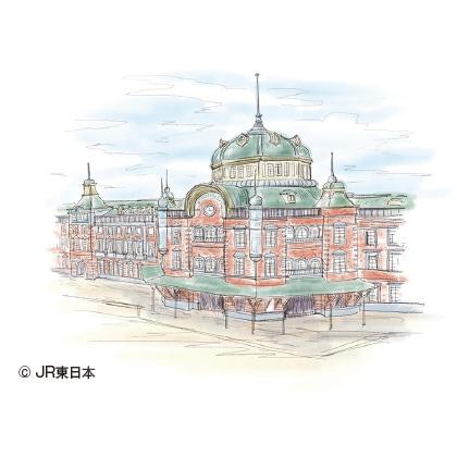 純金 東京駅丸の内駅舎