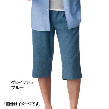 高島ちぢみ ポケット付ゆったりステテコ 2色組(LL)