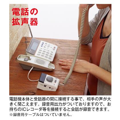 迷惑電話お断りピンポン・拡声器セット