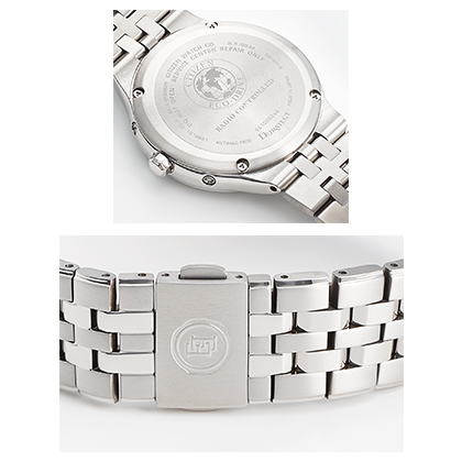 〈シチズン エクシード〉エコ・ドライブ電波腕時計(ベルト内周18.6cm)