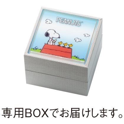 K18おしゃれスヌーピーダイヤモンドペンダント(60cm)