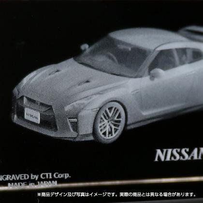 3Dクリスタル NISSAN GT−R(R35)