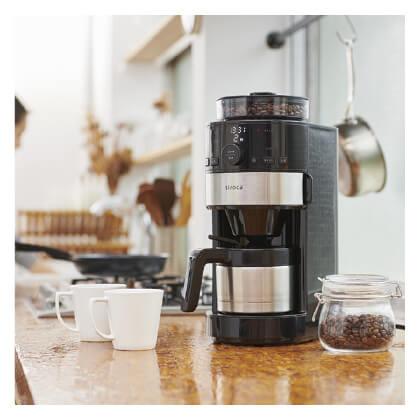 シロカ コーン式 全自動コーヒーメーカー