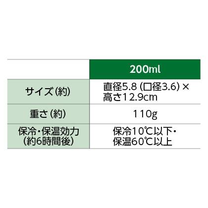 ハンズオリジナル タイガーステンレスボトル 200ml