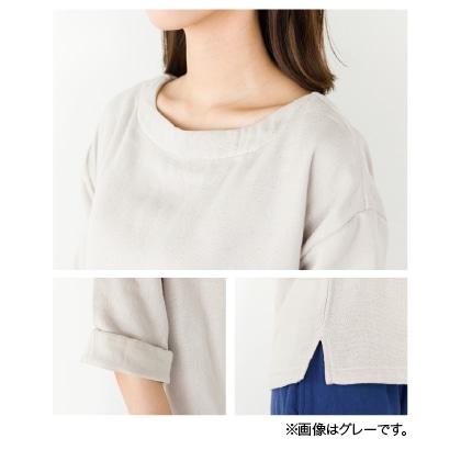 〈クムコ〉三河木綿4重ガーゼホームウェア トップス(ピンク M)