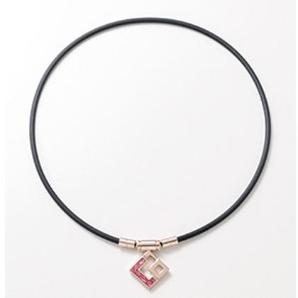 TAO ネックレス スリム AURA mini シャンパンゴールド × ホワイトラメ L