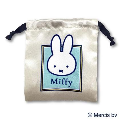 ミッフィー/缶ミラーとミニ巾着セット