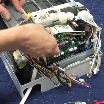 【エアコン取外し・取り付け含む】エレコン エアコン分解クリーニングギフト券 ロボットコース(お掃除機能付きエアコン)