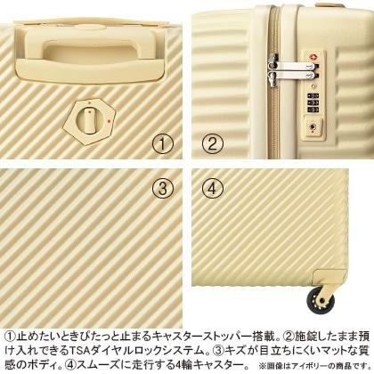 [ハント] スーツケース(小) ネイビー