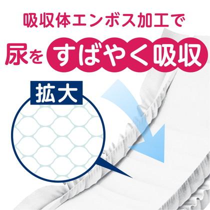 【ケース販売】アクティ 尿とりパッド 昼用・長時間3回分吸収 24枚×6パック
