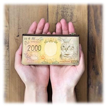 猫紙幣 小銭入れ
