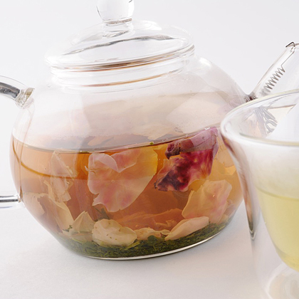 [TEAETギフト] 紅茶ティーバッグ , フレーバーグリーンティーローズ , 緑茶パウダー