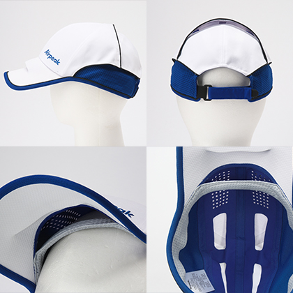 Airpeak Athlete�V (ホワイト×ブルー)