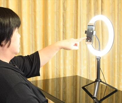 LEDリングライト LED-10