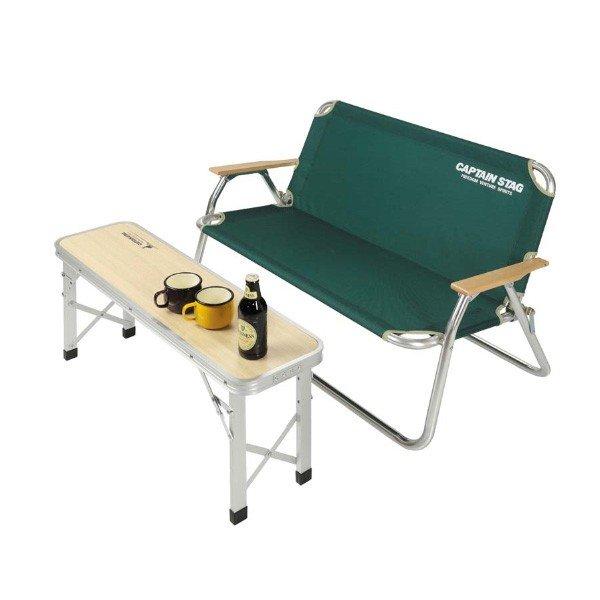 キャプテンスタッグ ジャストサイズ ベンチテーブル 86×24 UC-0540 ベンチ テーブル ラック アウトドア キャンプ 用品 道具