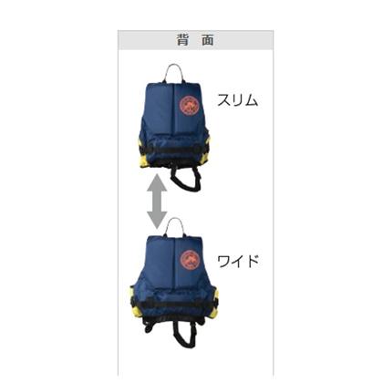 【AQA】KA-9021 LIFE JACKET KIDS(ライフジャケットキッズ3) KA9021  (子供向け)【シュノーケリング用】 イエロー×ブルー