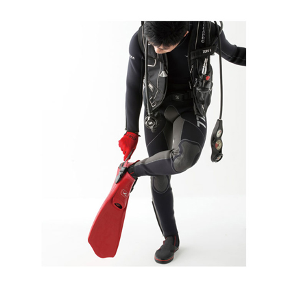 【GULL】MEW CYPHER ミュー・サイファー + ブーツ2点セット【ブラック】 23cm