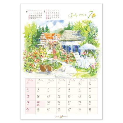 CAL−19 2021版カレンダースウィートホーム S