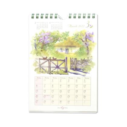 CAL−059  2022年版カレンダー スイートホーム S