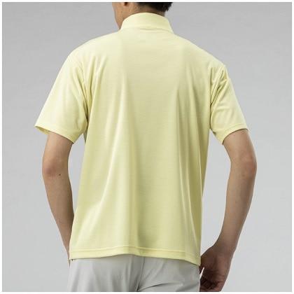 ドライベクタージップ半袖シャツ[メンズ]  レモングラス・XL