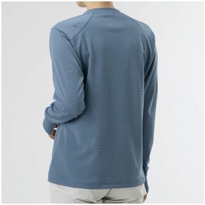 ドライベクター長袖Tシャツ[レディース] ブルーグレー・L