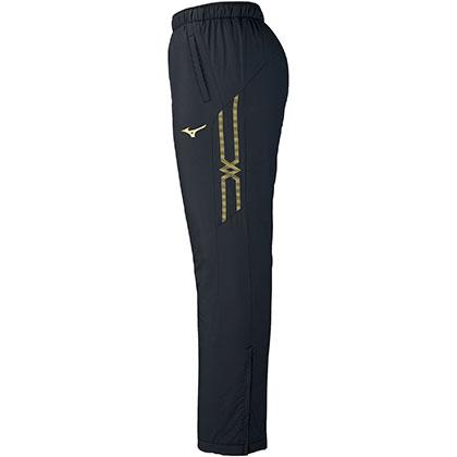 ブレスサーモ中綿ウォーマーパンツ[ユニセックス] ブラック ・ XL