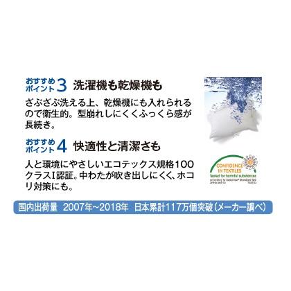 フォスフレイクス枕 コンフォートU(カバー無)
