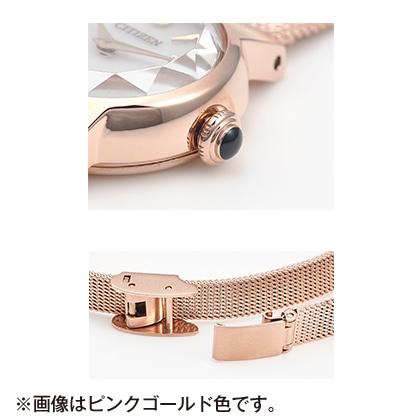 〈シチズン キー〉エコ・ドライブ腕時計(イエローゴールド色)