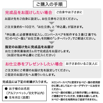 お仕立券 ハッピーロンパースべア【出産祝い用】