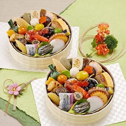 【早割・配達希望日可】京菜味のむら おせち「花籠二段」