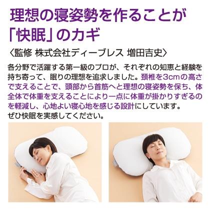 マリオット枕+プラチナコットンの専用枕カバー同色2枚セット(ラベンダー)