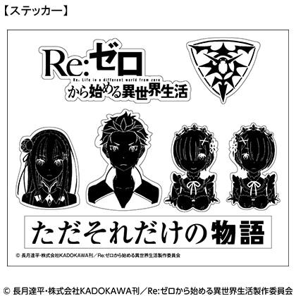 「Re:ゼロから始める異世界生活」オリジナル フレーム切手セット
