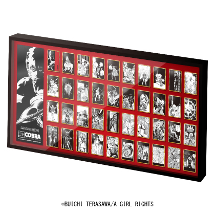 「コブラ」 40周年記念フレーム切手セット 200個限定 40種のピンズセット