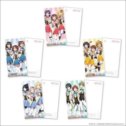 「アイドルマスター」シリーズ15周年記念 オリジナル フレーム切手セット