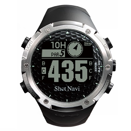 GPSゴルフナビ ShotNavi W1-FW ブラック