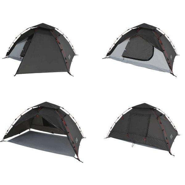 DOD ライダーズワンタッチテント ブラック T2-275 テント ワンタッチテント キャンプ アウトドア 用品