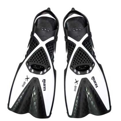 【マレス】シュノーケルセット mares X-ONE MAREA SET エックスワン マレア セット Black/White 【シュノーケリング3点セット】 SM(22.5cm〜25.0cm)