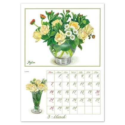 CAL−09 2021版カレンダーFujico Roses LL