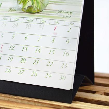 CAL−32 2021版カレンダー卓上1ヵ月 不二子 ML