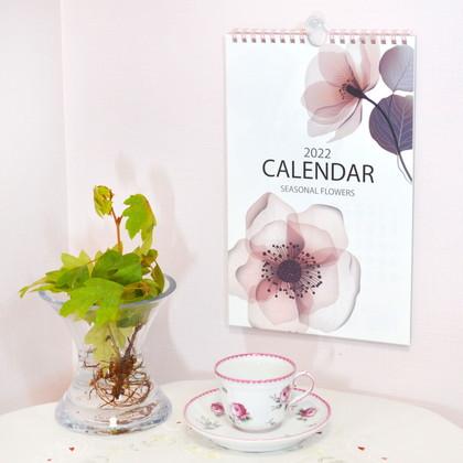 CAL−064  2022年版カレンダー シンプルモダン M