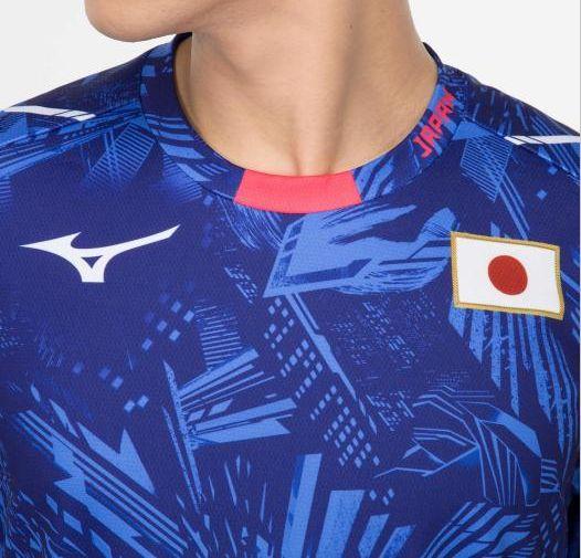応援Tシャツ[ユニセックス] ブルー・2XL