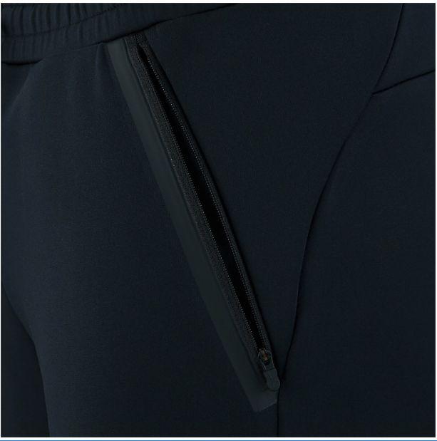 ストレッチスウェットパンツ[ユニセックス]ブラック・L