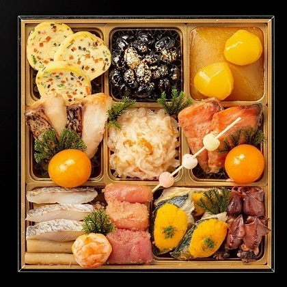 【早割・配達希望日可】京都祇園 料亭 和山 監修 和風三段重「祝響華」