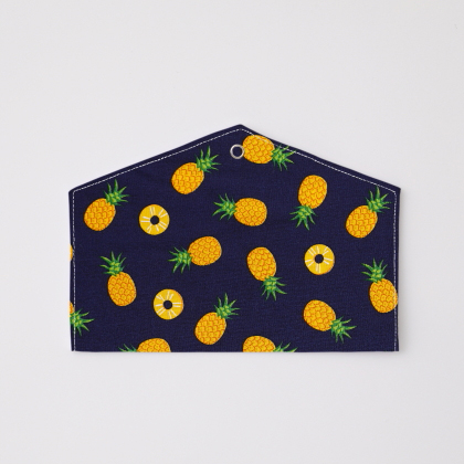 抗菌マスクケース パイナップル