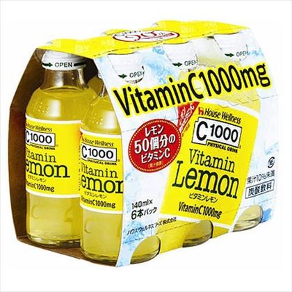 ※C1000ビタミンレモン 140ml×6本パック